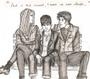 Charlie, Sam e Patrick, de As Vantagens de Ser Invisível (Stephen Chbosky)
