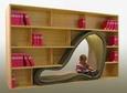 Espaço na estante